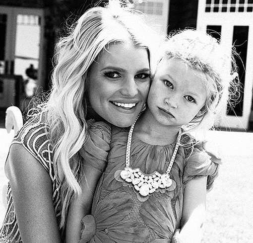 Jessica Simpson's Daughter Turns 3